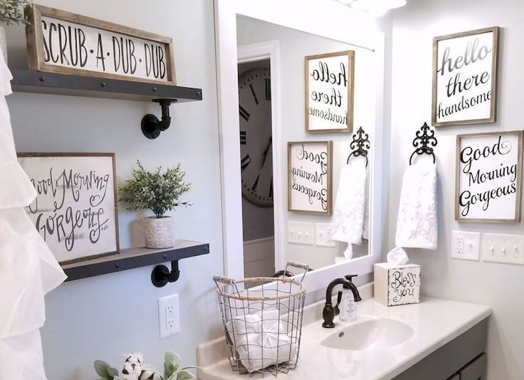 How to spruce up your bathroom interiors 14