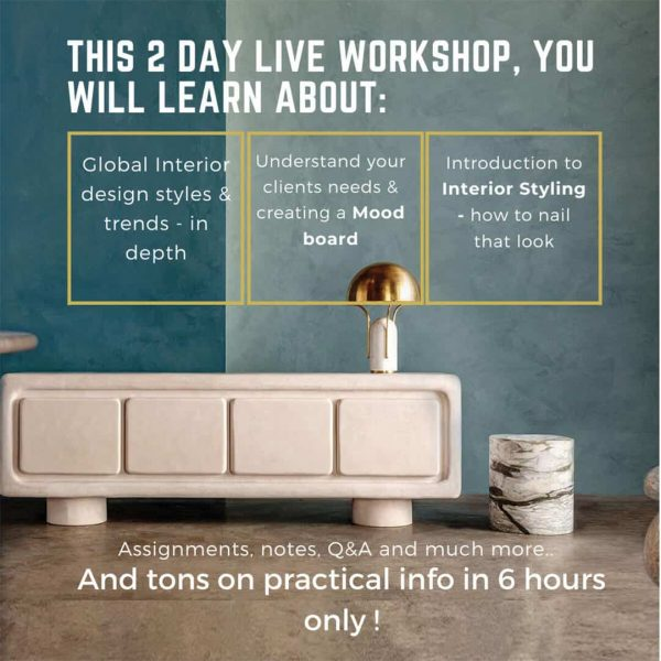 Learn to work with interior design styles 2