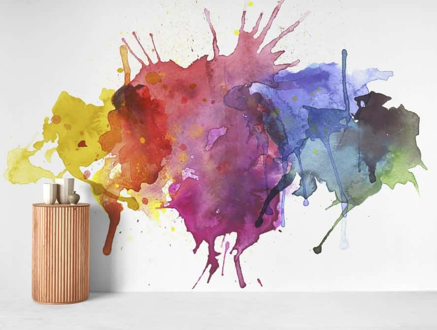 latest-wallpaper-trend-watercolor-wallpaper-interior-design-firm-mumbai-thane-navi mumbai