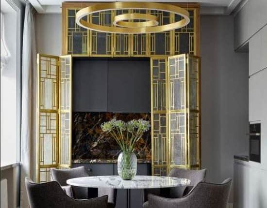 art deco-interior design style