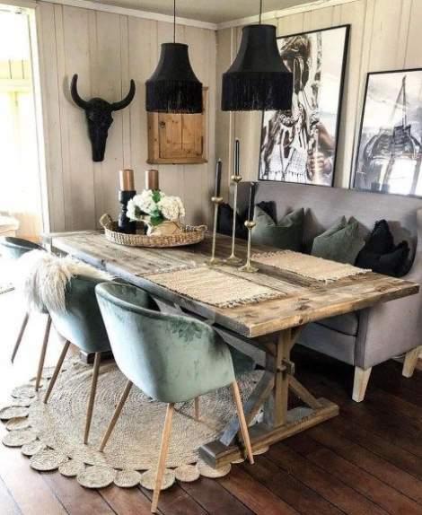 rustic-interior design style