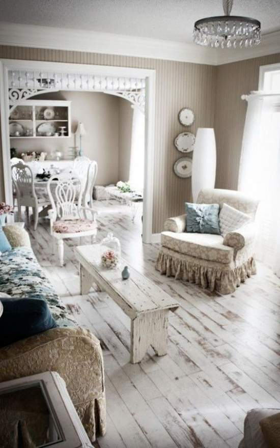shabby chic interior design style