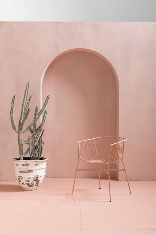 pink-colored-interiors-monochromatic