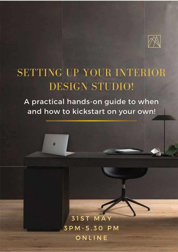 Setting up your Interior Design studio! 1