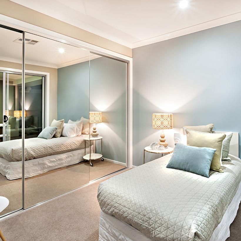 7 DIY ways to make your bedroom look bigger 2