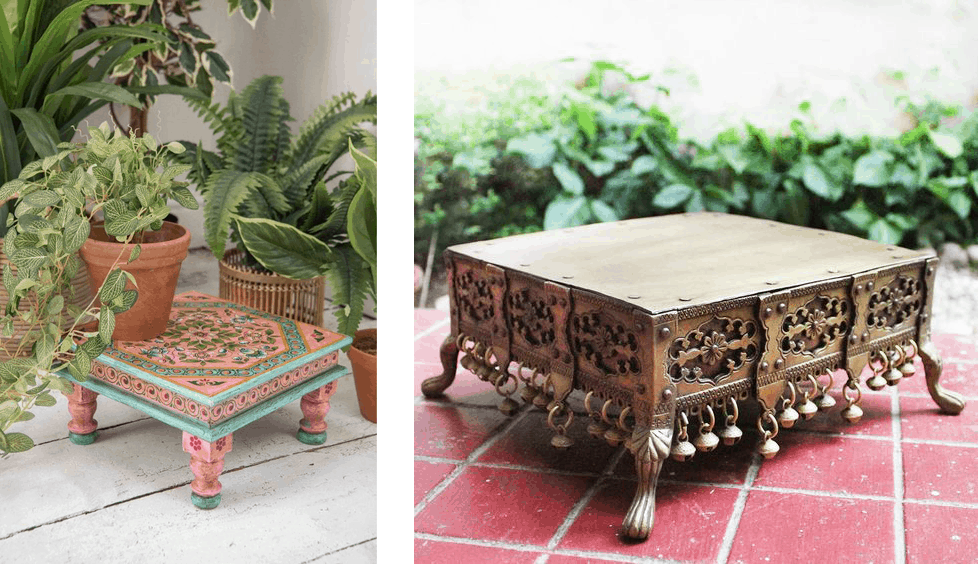 Indian Furniture- Bajot