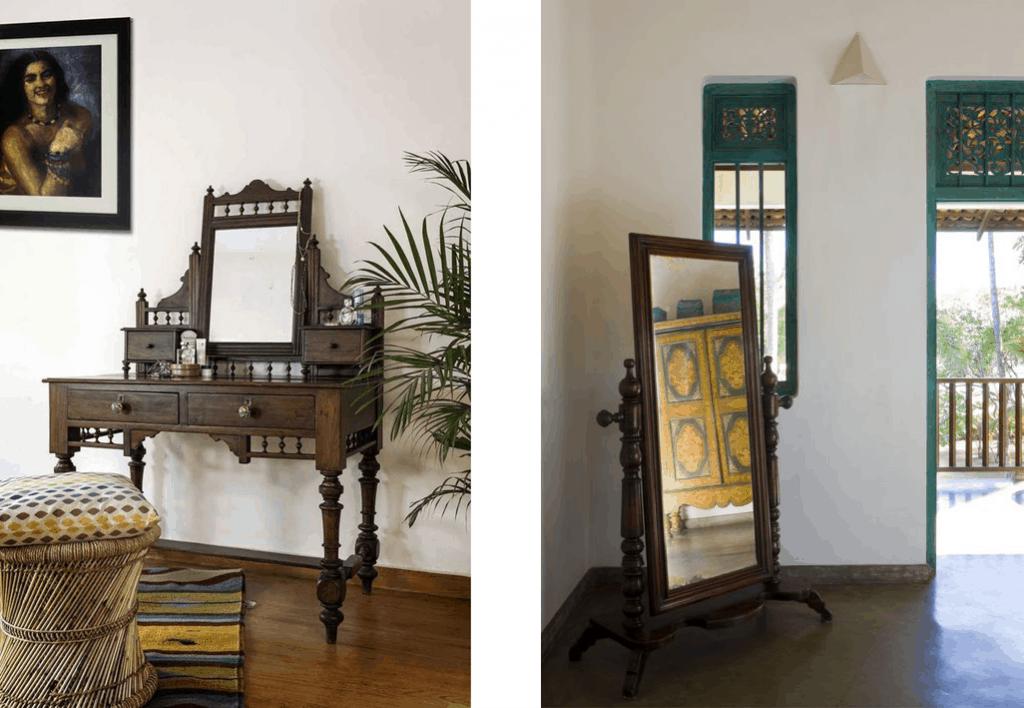 Wooden Vintage furniture
