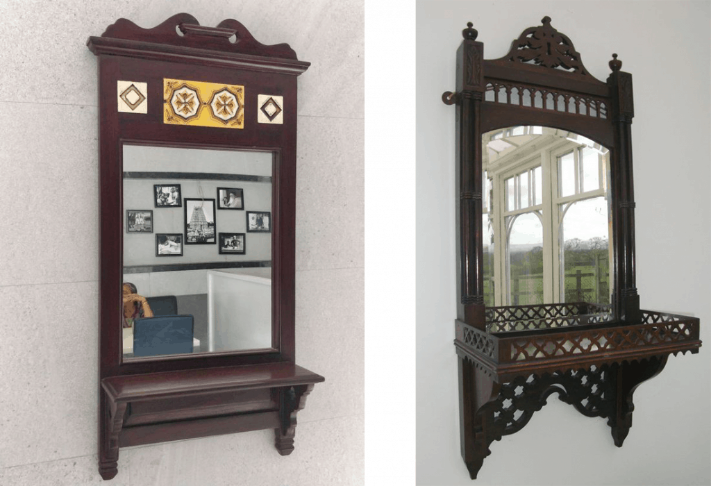 Indian Furniture- Wall hung dressers