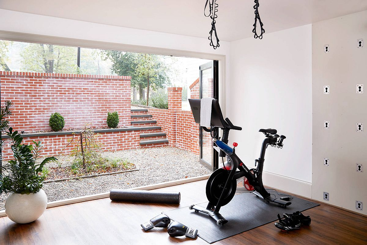How to Create a Workout Zone at Home 15