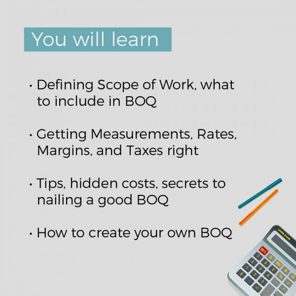 Estimation and BOQ Hacked 3