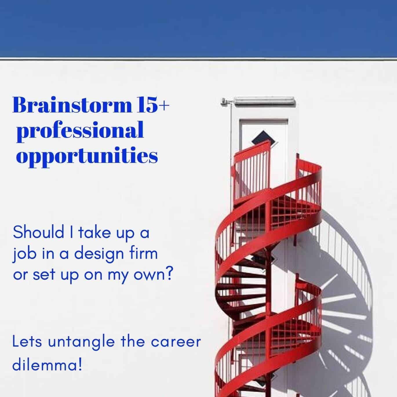 Broaden Your Career Options | Online Workshop By Alcove Studio