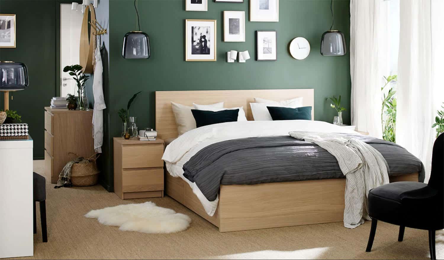 How to steal a cool bedroom look from IKEA 2