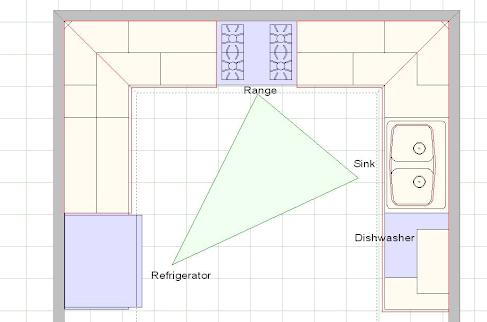 Alcove studio- kitchen design ideas